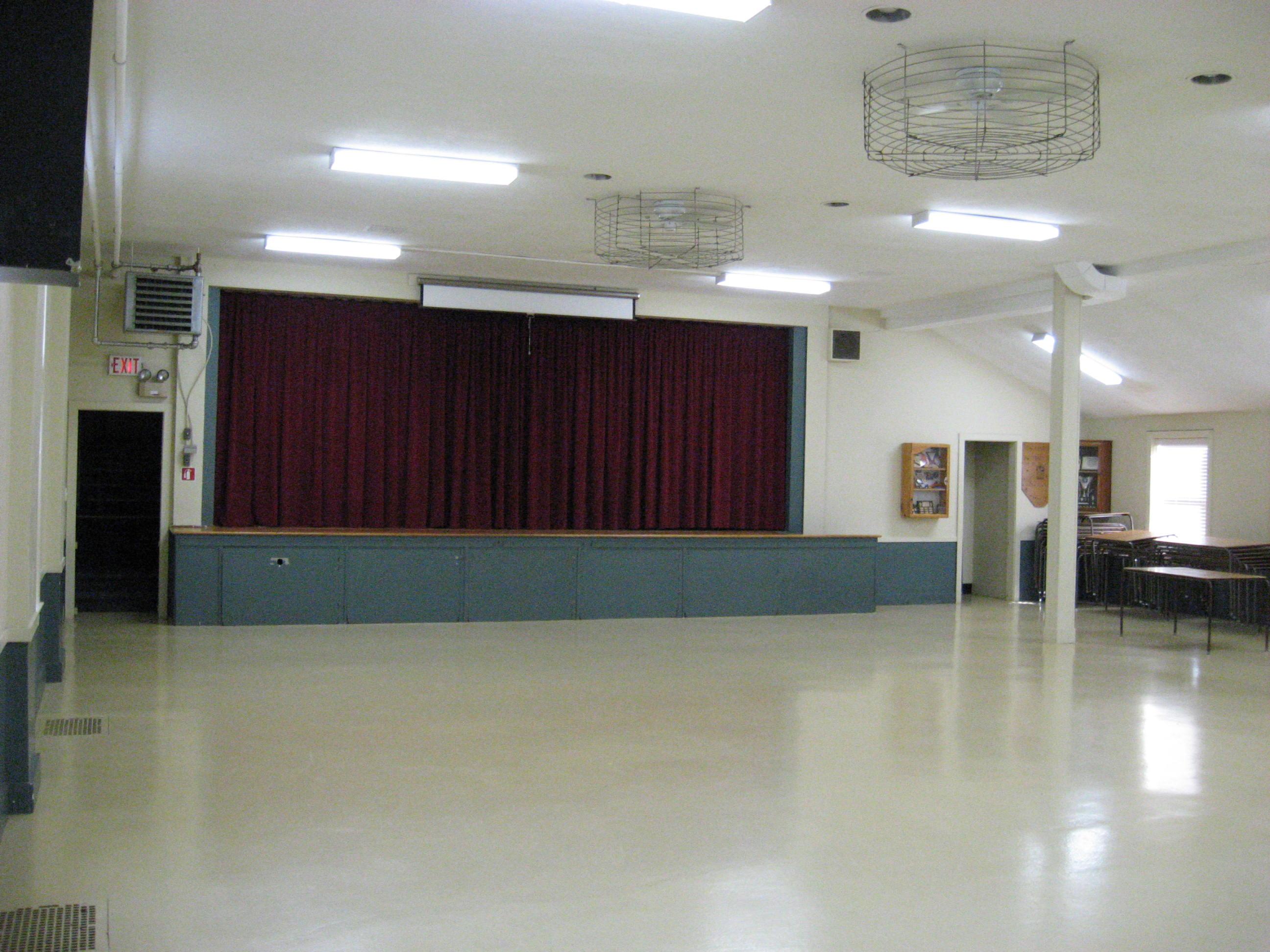 Parish Hall with Stage