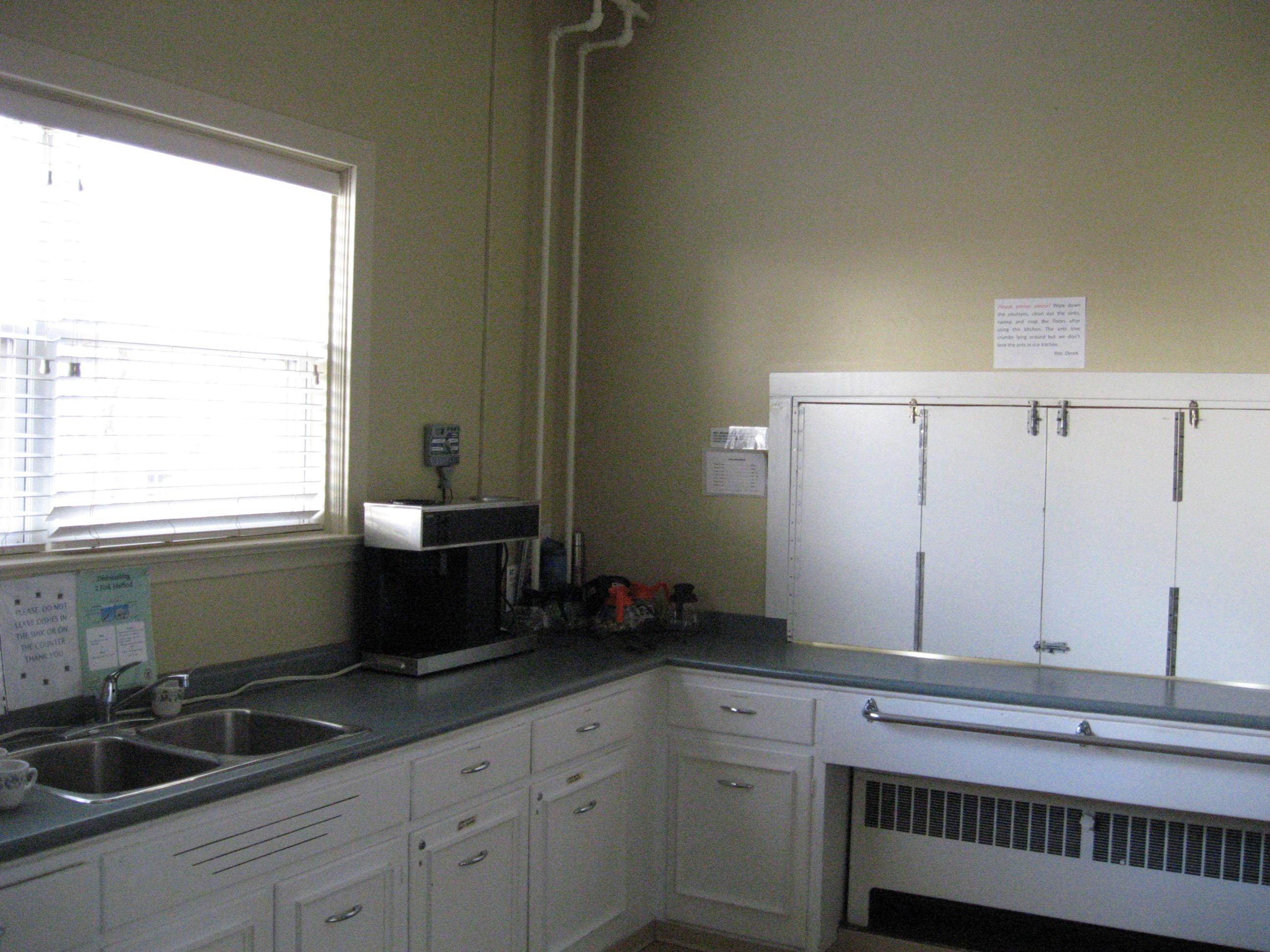 Parish Hall Kitchen