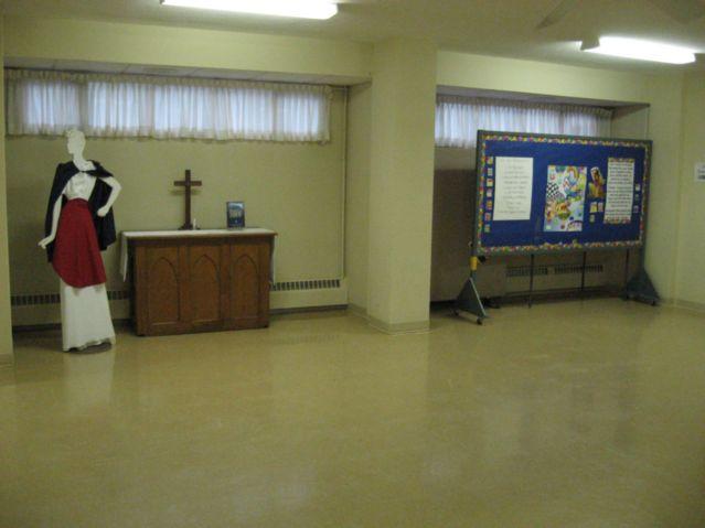 Church Hall seats 100