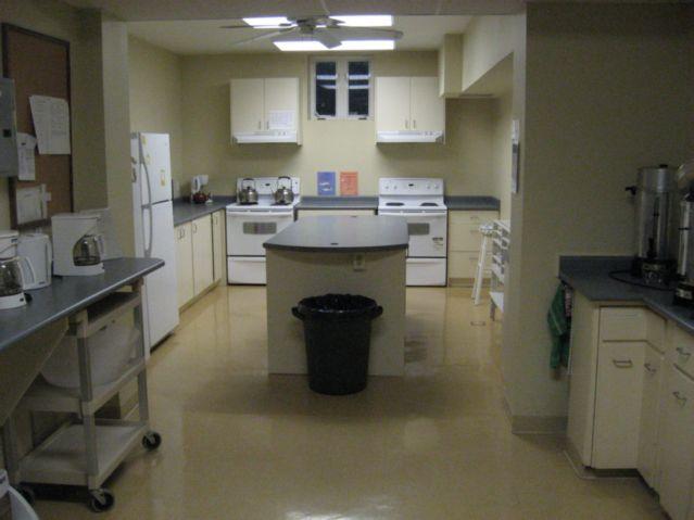 Church Hall kitchen
