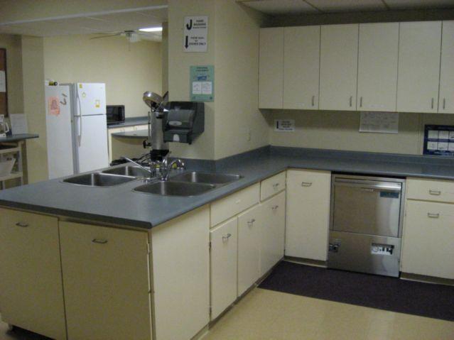 Church Hall kitchen w/dishwasher