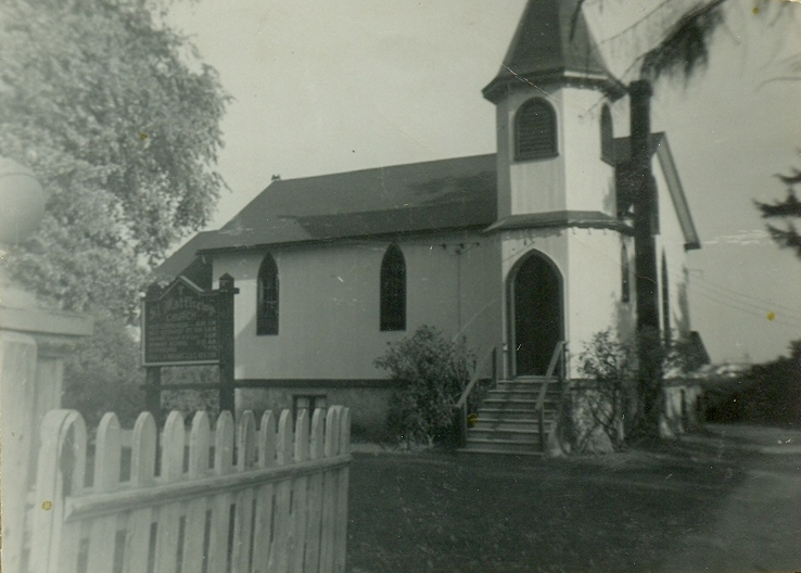 Origianl Church built 1861
